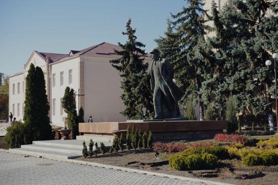 Centre of the city Comrat